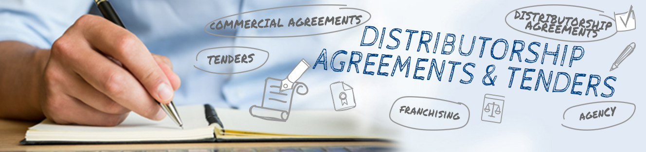 Commercial agreements and tenders